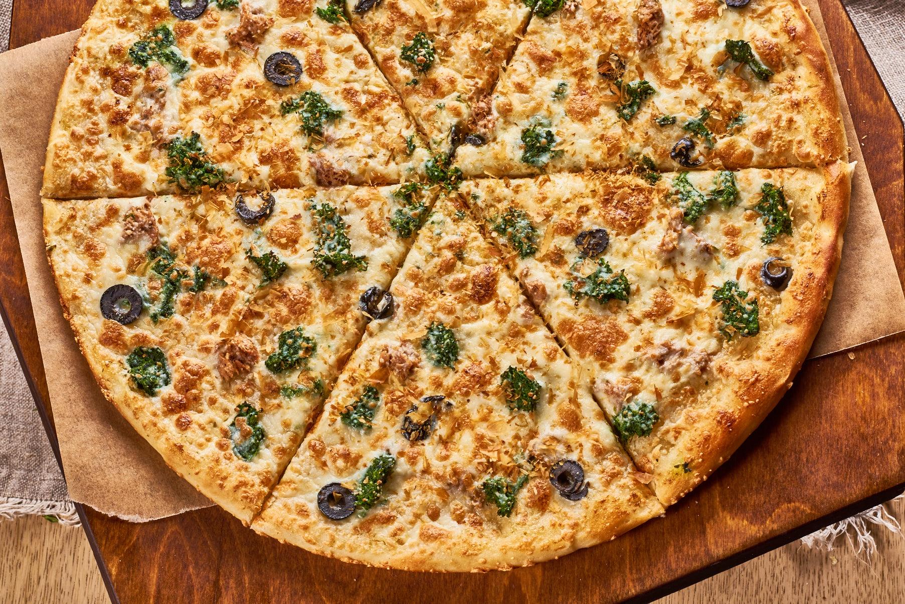 С КУРИЦЕЙ И ШПИНАТОМ *26 сантиметров Palermo Pizza | Пиццерия Палермо Пицца Palermo Доставка Волгоград